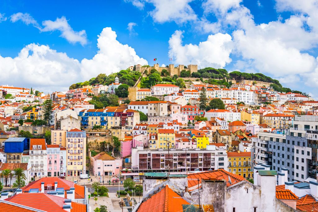 ליסבון פורטוגל שכונת אלפמה