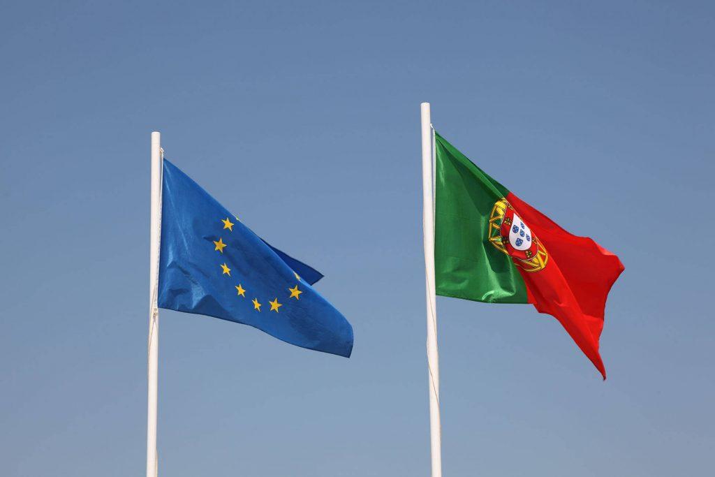 דגל פורטוגל האיחוד האירופאי
