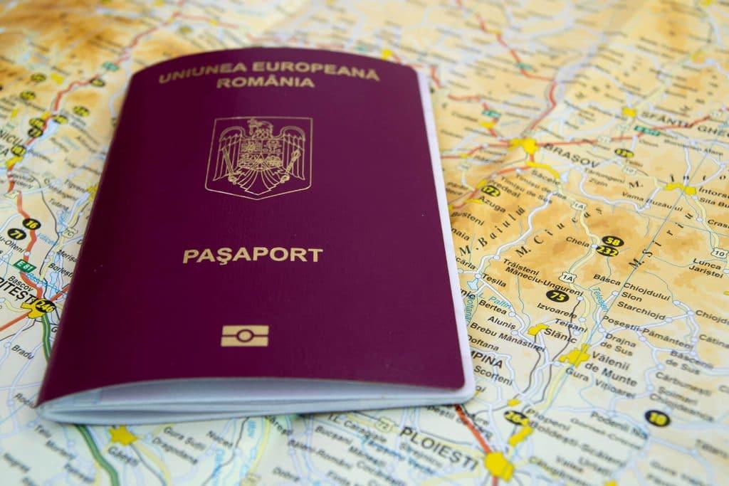 דרכון רומני אירופאי